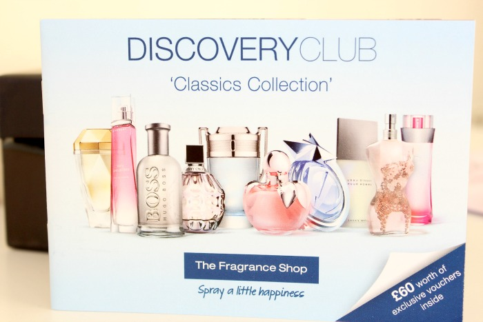 The Fragrance Shop Discovery Club Classics Collection