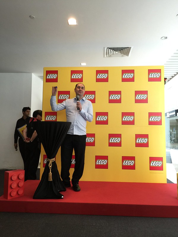 Mr George Papasolomontos, Managing Director of Bricks World