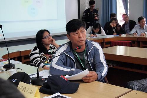 後灣社區發展協會理事長劉和生