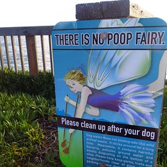 There is no poop fairy.   #santacruz