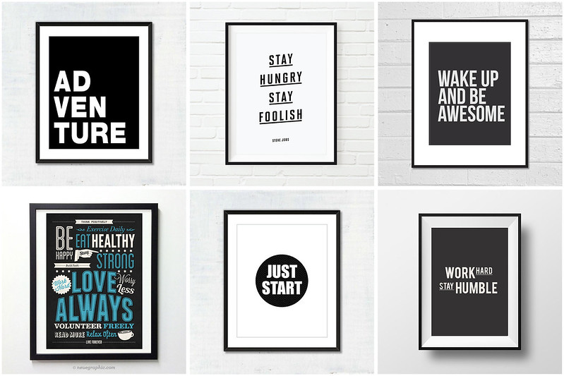 Motivational Prints