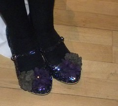 Theresa Breslin's shoes
