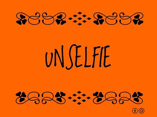 Buzzword Bingo: Unselfie