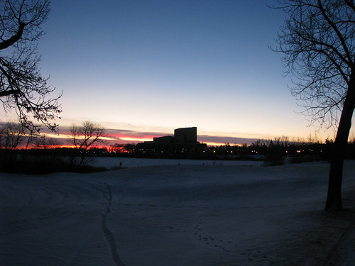 #YQRbike sunrise