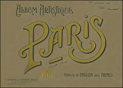 Album Artistique Paris