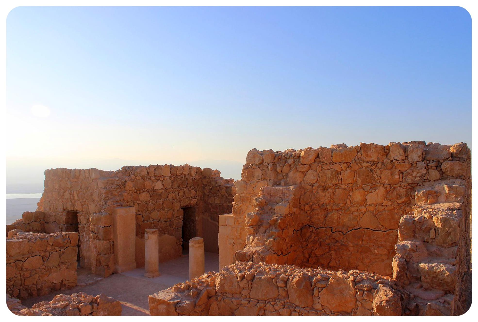 masada ruins israel