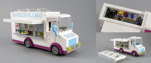 Taco Truck El Lago (Lago Corazon!! :p ) -Open truck