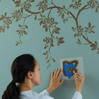 Vẽ trang trí trong trang trí nội thất