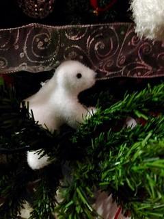 Christmas tree details.