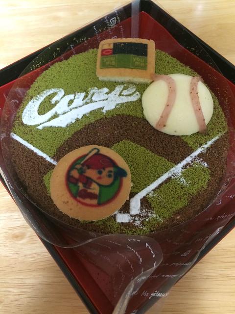 カープクリスマスケーキ2