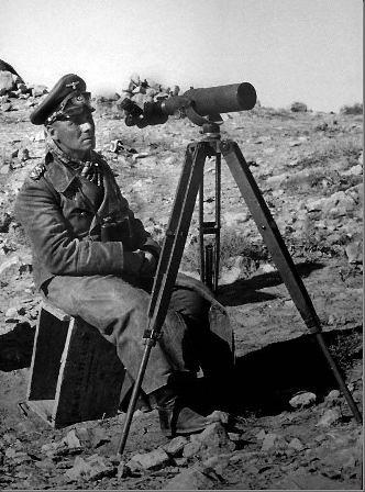 El mariscal Erwin Rommel