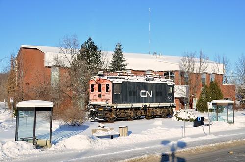 cn quebec ge generalelectric canadiannational deuxmontagnes 6710 z1a boxcab boxcabelectric cn6710