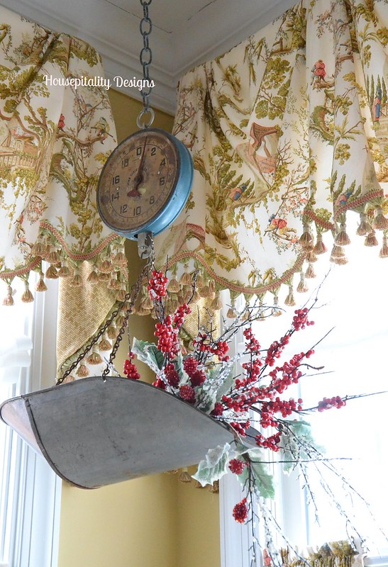 Vintage Hanging Scale-Housepitality Designs