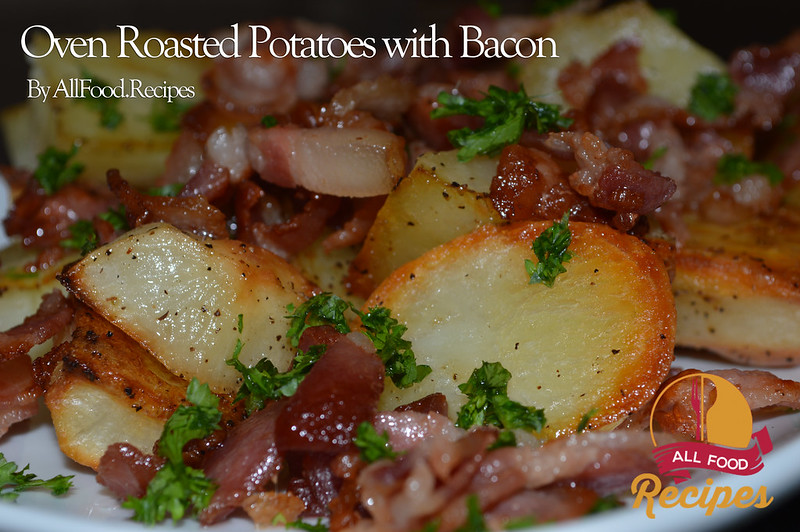 roasted potatoes bacon parsley roasted potatoes remove the potatoes ...