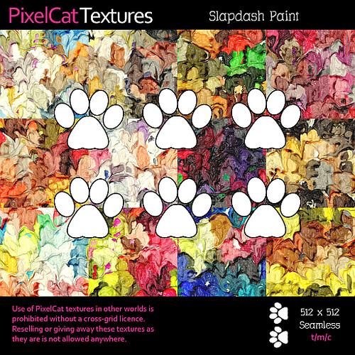 PixelCat Textures - Slapdash Paint