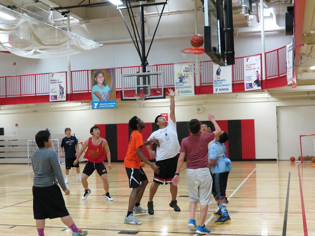 YMCA Pickup Basketball
