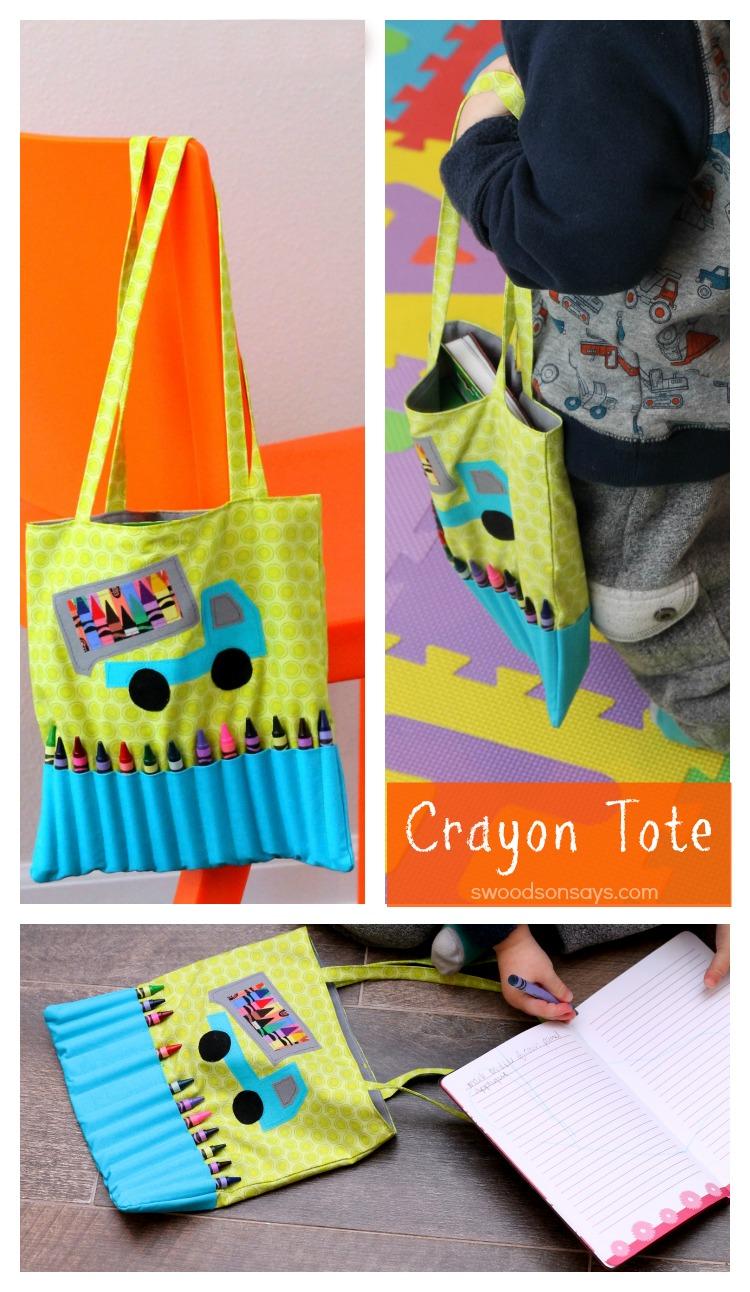 Crayon Tote Bag