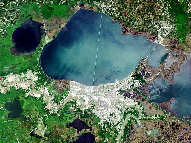 Landsat of New Orleans