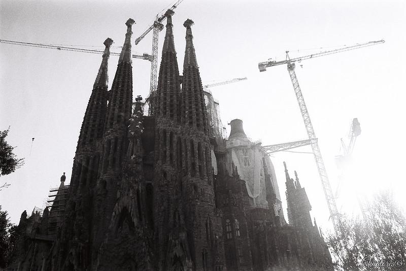 Базилика Святого Семейства. Temple Expiatori de la Sagrada Família. Spain. Barcelona
