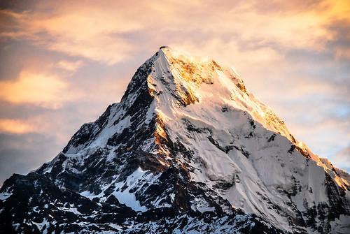 nepal annapurna magichour goldenhour poonhill annapurnasouth