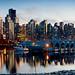 Vancouver at Night by EdBob