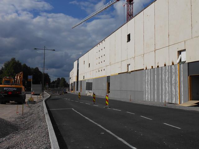 Hämeenlinnan moottoritiekate ja Goodman-kauppakeskus: Työmaatilanne 23.6.2013 - kuva 10