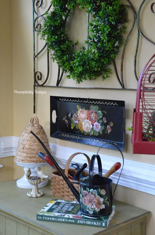 Vintage garden vignette-Housepitality Designs