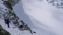 Wejście na przełęcz Col des Ecandies.