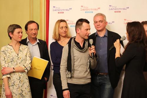 Prix Landerneau Découvertes et Roman 2015
