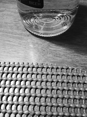 Glass and Table Mat