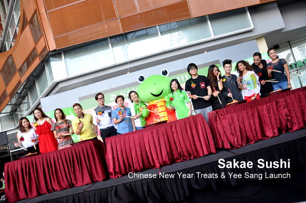 Sakae Sushi Chinese New Year Treats & Yee Sang Launch 11