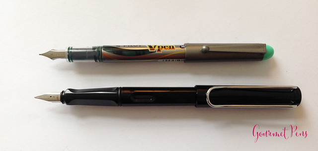 Review Pilot VPen Fountain Pen - Light Green @PilotPenUSA @JetPens (6)