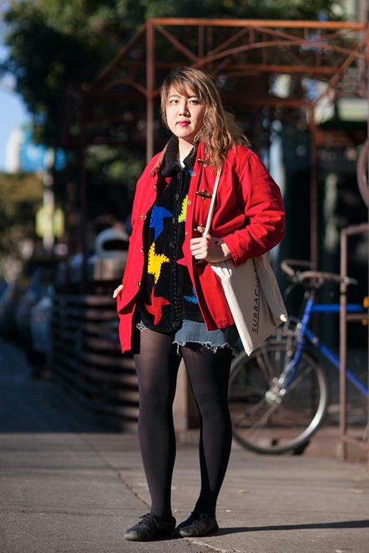 teresa street style, street fashion, women, San Francisco, Quick Shots, Valencia Street, artist