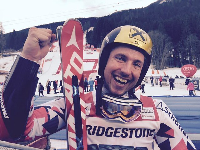 Marcel Hirscher at Garmisch