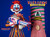Killer Klowns From Outer Space Figure by Sota Striped Klown Loose Complete Toy Mid