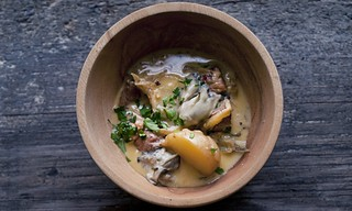 Pork, Fennel and Oysters