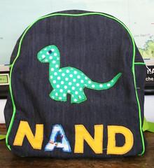 Made By Rae - Dinosaurusboekentas