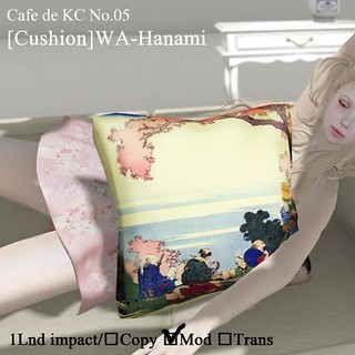 Cafe de KC No.05[cushion]WA-Hanami
