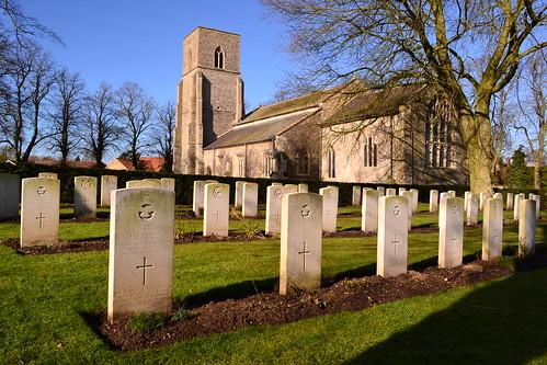 War Graves Cemetery - St Mary's Great Bircham