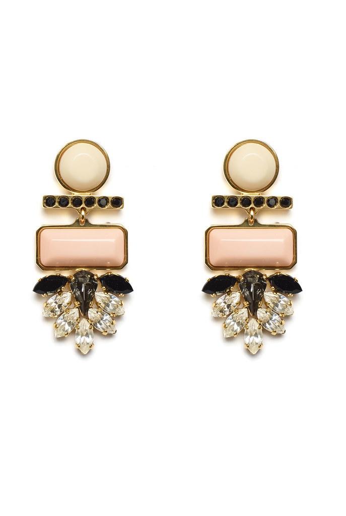 Mexico Dahlia Earrings