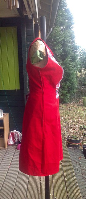 Red Deer&Doe dress