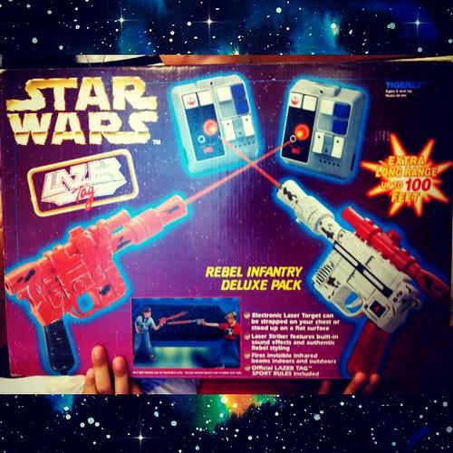 Game on! #lazertag #starwars #starwarsmalaysia #80s #90s #geekshavethemostfun #ilhanology