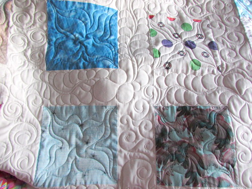 Spoonflower Swatches Quilt