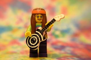 Psychidelic LEGO Rock