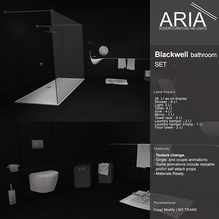 [ARIA] Blackwell bathroom set @ FaMESHed!