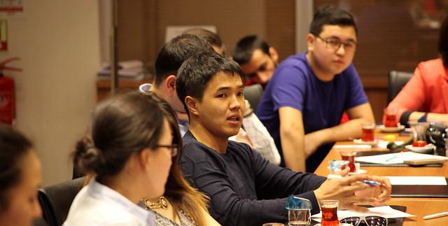 Kazakistanlı Yüksek Lisans Öğrencileri Üsküdar Üniversitesi'ni ziyaret etti. 2