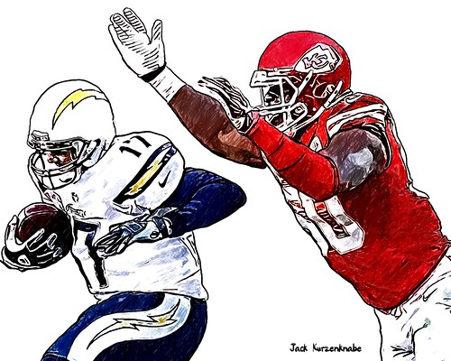 Kansas City Chiefs Justin Houston - San Diego Chargers Philip Rivers