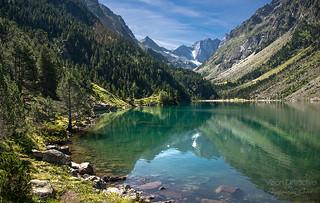 Gaube lake, French Pyrenees