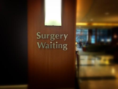 Surgery waiting