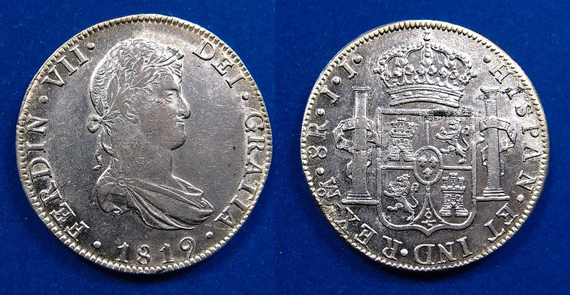 FERNANDO VII - 8 REALES DE 1819 - MEXICO JJ 16707969355_7a120f0b76_c